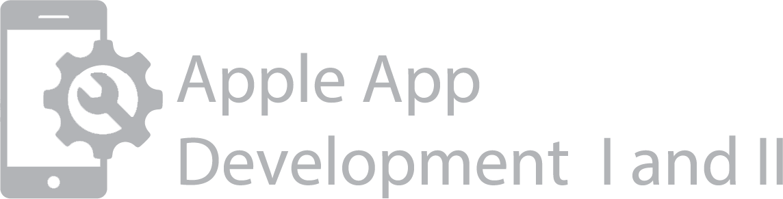 "Computer Programming 1 ""Apple Application Development"""